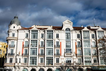 Residential building in the old town of Valladolid