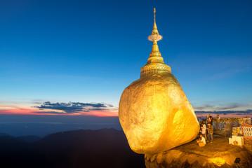 Golden Rock, Pagoda Kyaiktiyo, Myanmar