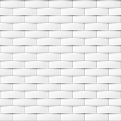 Decorative white seamless texture. Creative background. Paper tile pattern