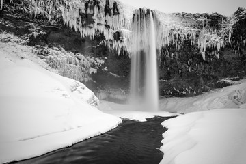 Wasserfall, Island