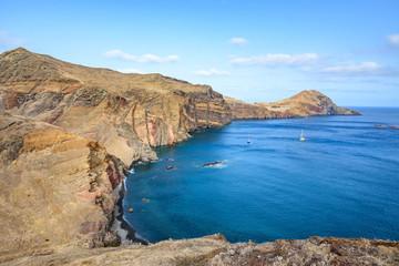 East coast of Madeira island - Ponta de Sao Lourenco, Portugal