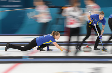 Olympics: Curling-Women Team Final