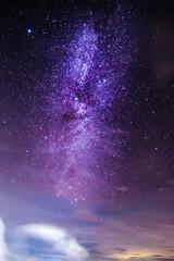 Orion star in dark night