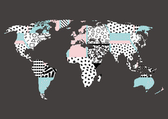 World map abstraction