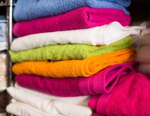 different cotton colour towels