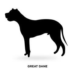 great dane silhouette