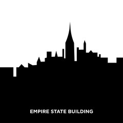 empire state building silhouette