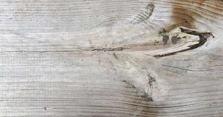 Wood texture background, wood planks. Old washed wooden table pattern top view.