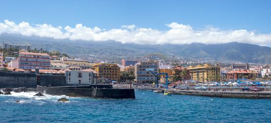 Fotobehang Palermo Waterfront in Puerto de la Cruz, Tenerife