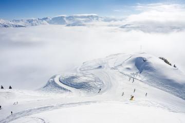 Skipiste in Bad Gastein Skigebiet