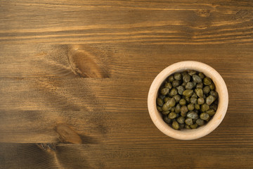 Capers Pickled in Vinegar