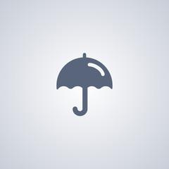 Parasol icon, Umbrella icon