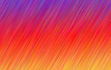 Purple, Red and Orange Gradient Stripes Vector Background Inspired by Photo Sharing App Logo Colors. Shiny Diagonal Lines Texture. Multicolored Hatching Strokes Surface.