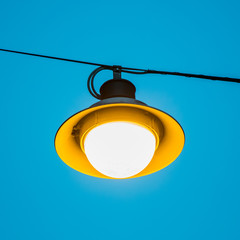 A single lamp