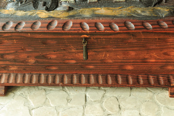 An old casket