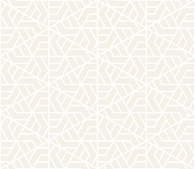 Vector seamless subtle pattern. Modern stylish texture. Repeating geometric tiling from striped triangle elements