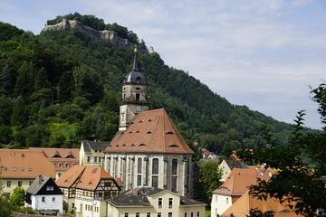 Königstein im Elbsandsteingebirge