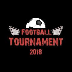 Logo Football tournament 2018