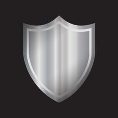 Silver Shield Icon
