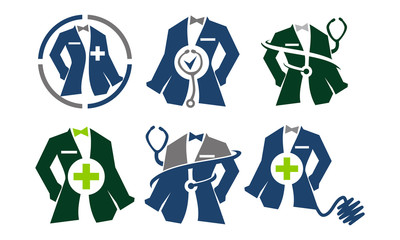 Clothing for Doctor Tailor Service Set