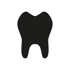 tooth. simple icon
