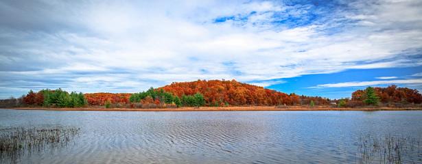 Fall Colors on Lake