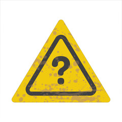 Warning/Street Sign - Question