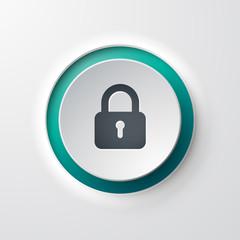icône bouton cadenas