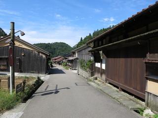 石見銀山の街並み(大森地区) Iwami Ginzan Silver Mine(Omori Town)