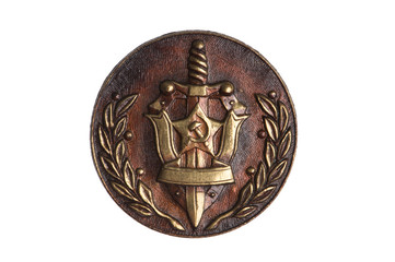 badge KGB