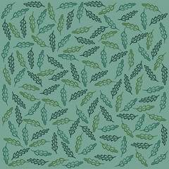 Plant Pattern for Background