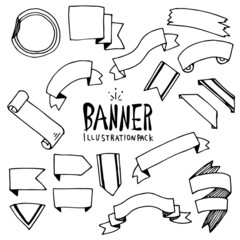 Banner Illustration Pack