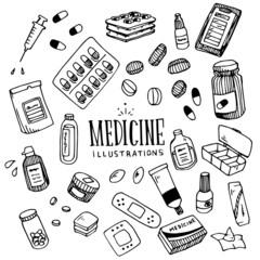Medicine Illustration Pack