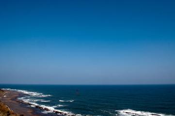 日南海岸の海と空