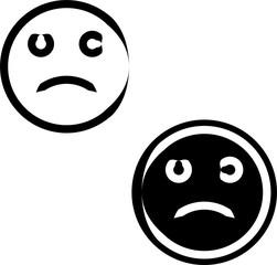 Sad Icon, Sad Face Icon