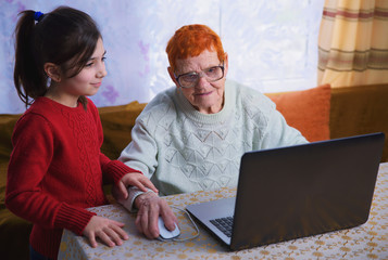 Older people can learn a laptop and a smartphone, learn to use the gadgets