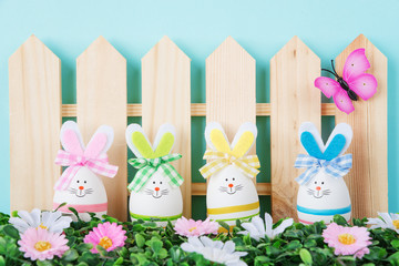 Аunny Easter bunnies