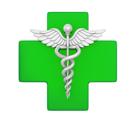 Pharmacy Symbol Isolated