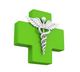 Pharmacy Symbol Isolated