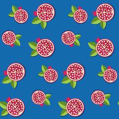Seamless pomegranate pattern