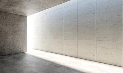 concrete modern interior Fototapete