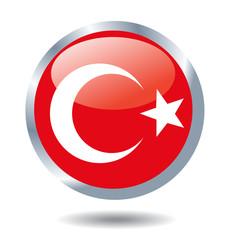 vector background of turkey flag