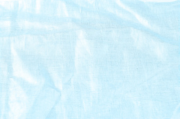background texture, linen cloth of blue sky with metallic luster. Cool as a light breeze, representing a light linen canvas that will satisfy the different needs of your design