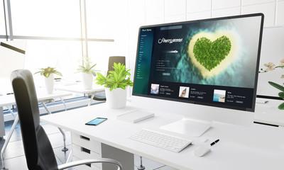 computer office travel honeymoon website