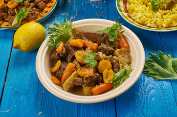 South African Mild lamb curry potjie Lamb curry