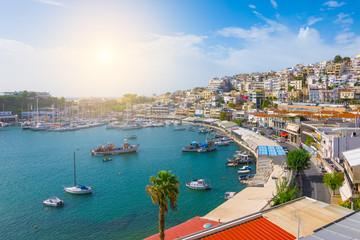 Fotomurales - Piraeus marina landscape, Athens, Greece