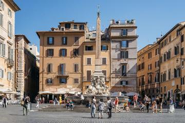 Piazza della Rotonda in Rome Italy