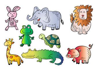 Cute Animals  cartoon