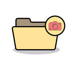 Camera folder image photo photos picture pictures icon