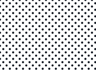 Black and White Polka Dot Background -Pattern